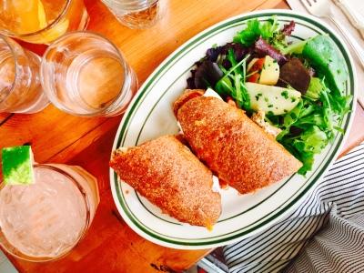 Hero Meatball Sandwich w/ Side Salad
